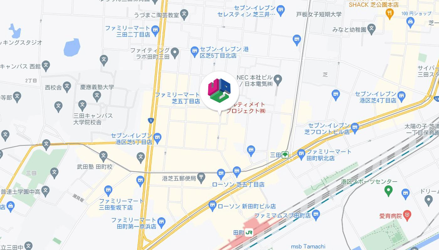 東京センターアクセスマップ